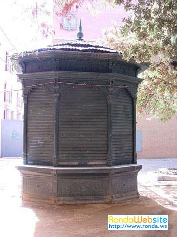Kiosko de la Alameda del Tajo