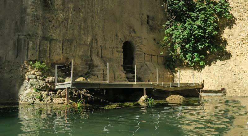 Subterráneo de la mina