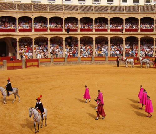 Feria de Pedro Romero Novillada en La Real Maestranza.