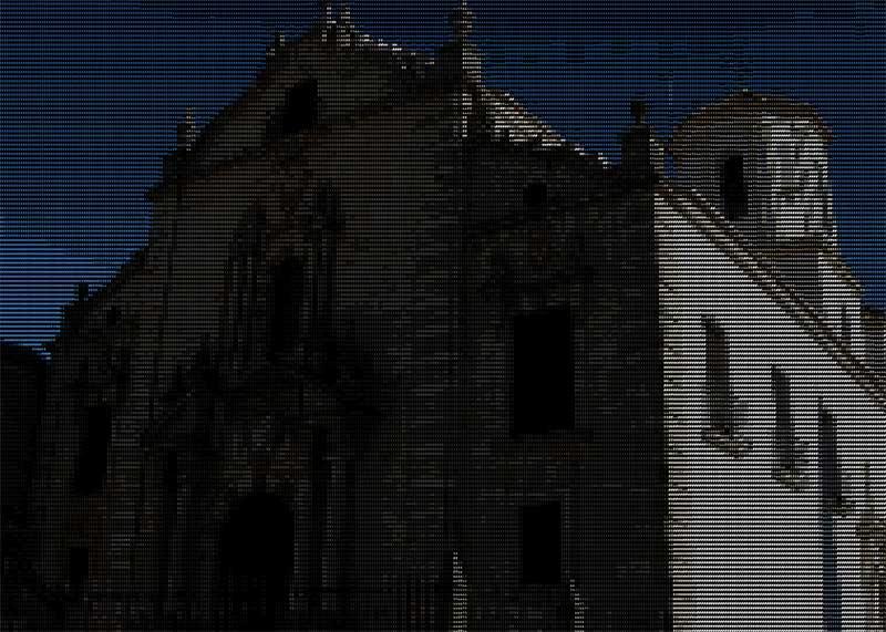 Iglesia de los Descalzos en Ascii